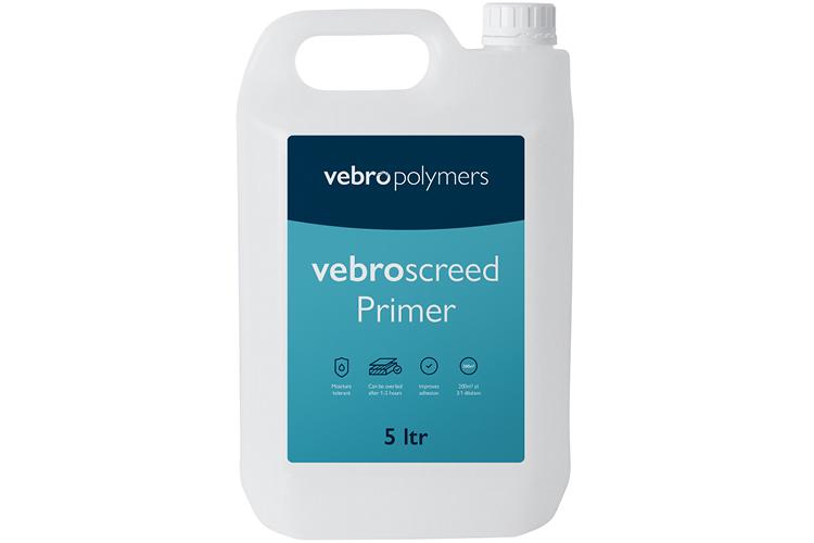 vebroscreed Primer Packaging