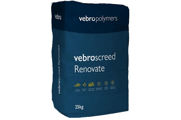 vebroscreed Renovate Packaging
