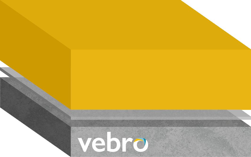 vebrocrete HF Rapid Cure (Safety Yellow)