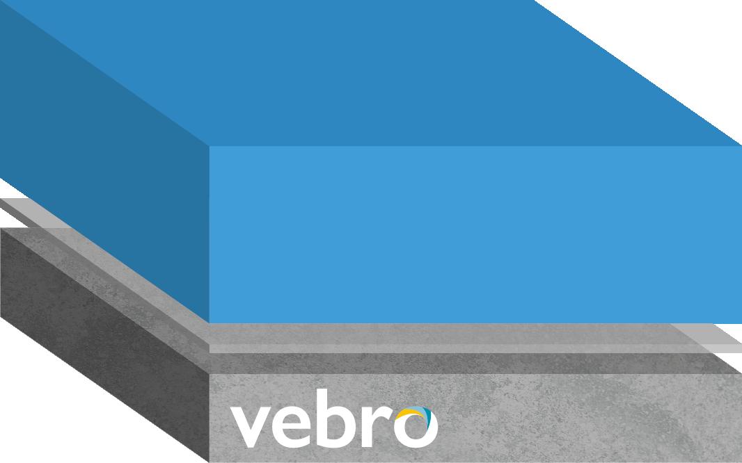 vebrocrete RT Rapid Cure (Blue)