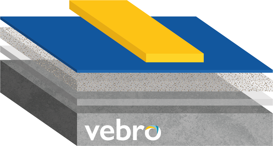vebrodeck PU Linemarker (Safety Yellow)