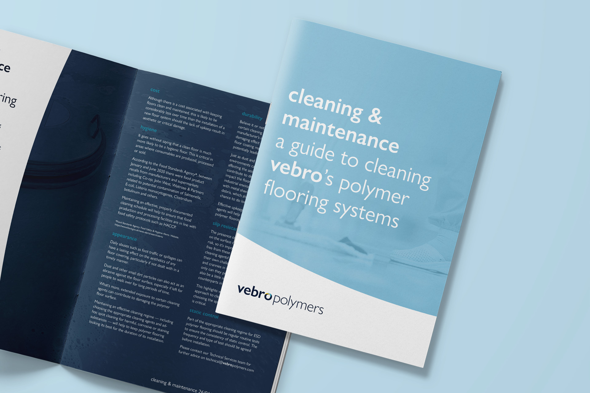 Vebro Polymers - Cleaning & Maintenance Guide