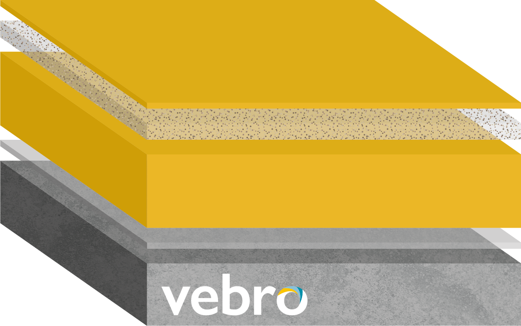 vebrocrete HF (Textured) (Honey Yellow)