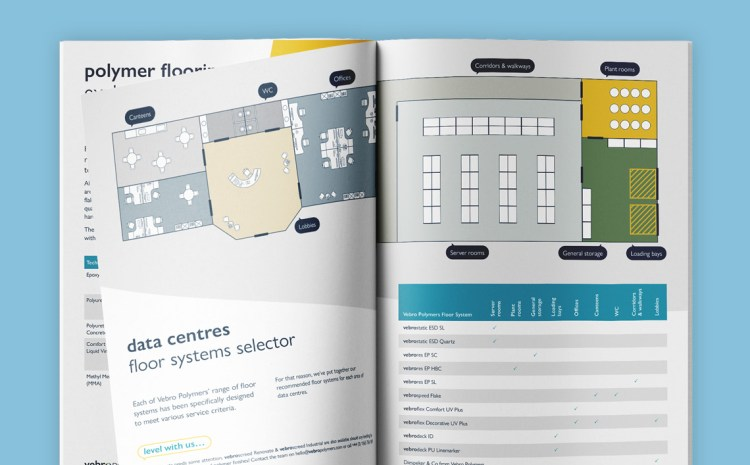 Demand for Data Centres Drives Need for ESD Control & Wear Resistant Polymer Flooring