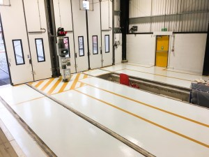 Vebro Polymers - vebrores EP SC at Nexus Tyne & Wear Metro Learning Centre - MJF Group