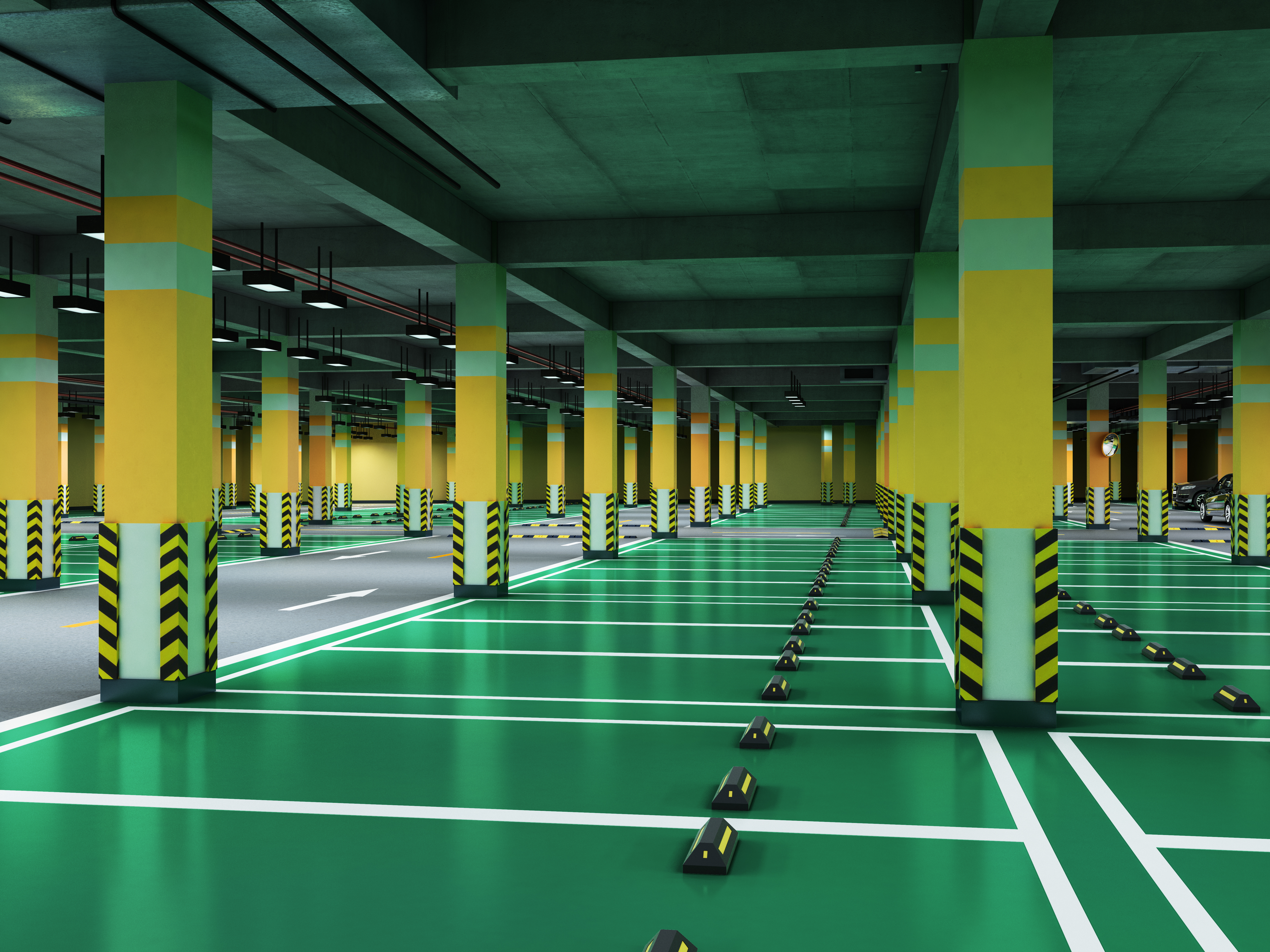 vebrodeck car park deck waterproofing and wearing systems