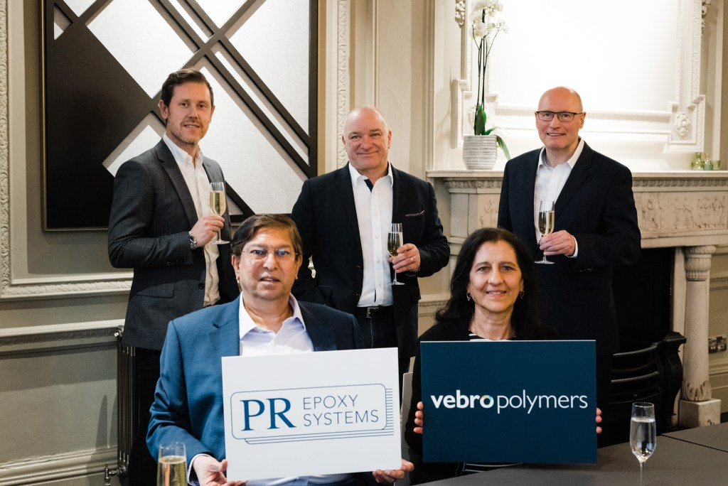 Vebro Polymers Announces Acquisition of PR Epoxy Systems