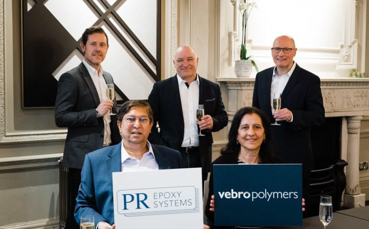 Vebro Polymers Announces Acquisition of PR Epoxy Systems Ltd