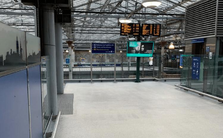 IFP Scotland Ensures Refurbishment Works Remain on Track at Edinburgh Waverley