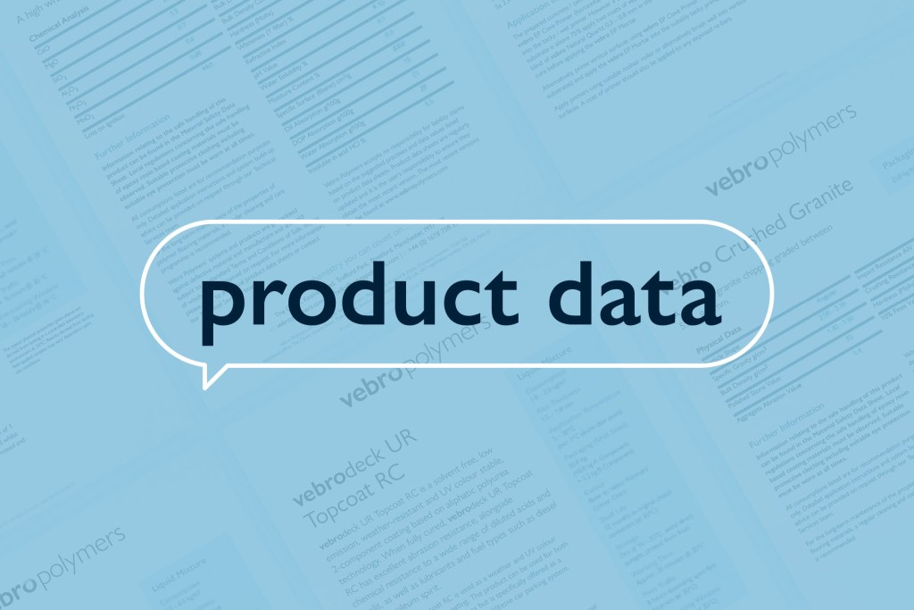 Vebro Polymers - Product Data
