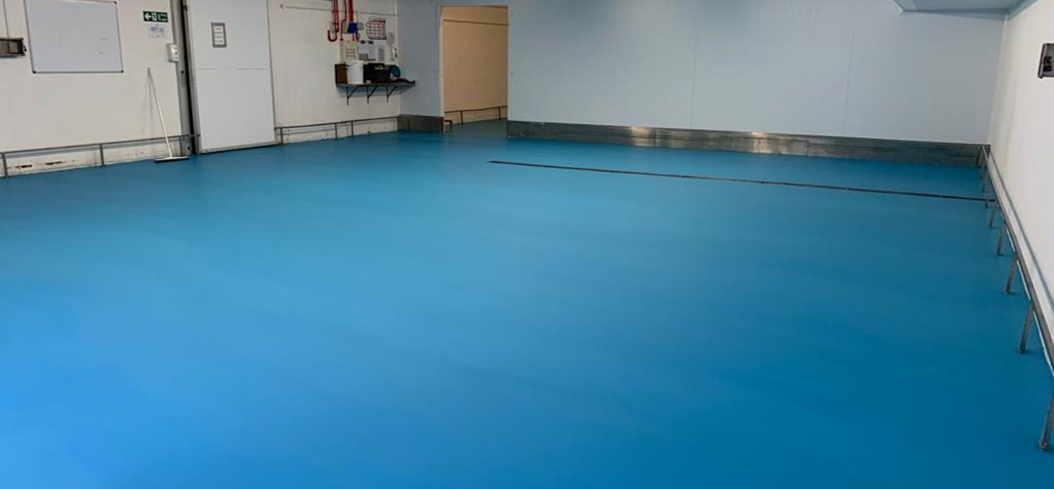 Vebro Polymers - vebrocrete MF at PD Hook (Hatcheries) - Veitchi Flooring